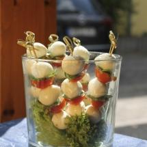 Tomaten-Mozzarella Spiesse
